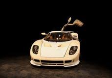 New sport car. New model sport car Stock Photography