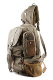 New sport rucksack. Isolated on white background Stock Images