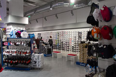 New sport store opening Royalty Free Stock Image