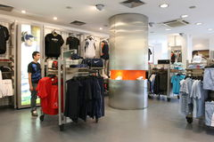 New sport store opening Royalty Free Stock Photos
