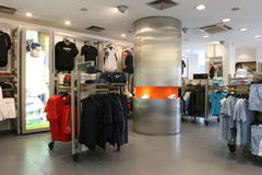New sport store opening Stock Image