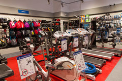 New sport store Royalty Free Stock Photography