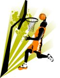 New sports attack Royalty Free Stock Image