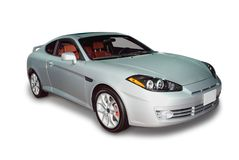 New Sports Car royalty free stock photo