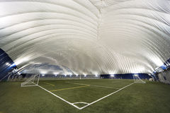 New Sports Dome interior - corner view Royalty Free Stock Photos