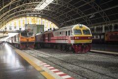 New SRT express train at Hua Lamphong Station, Bangkok, Thailand Royalty Free Stock Photo