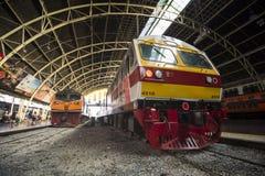 New SRT express train at Hua Lamphong Station, Bangkok, Thailand Royalty Free Stock Image