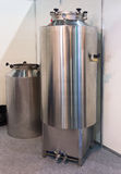 New stainless steel tank of beer production Stock Photography