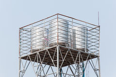 New stainless tank Royalty Free Stock Image