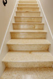 New staircase with marble steps Stock Image