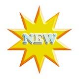 New in starburst Royalty Free Stock Photo