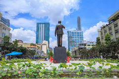 New statue of Ho Chi Minh Royalty Free Stock Image