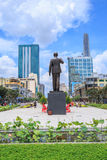 New statue of Ho Chi Minh Royalty Free Stock Photography