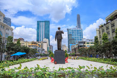 New statue of Ho Chi Minh Stock Photography