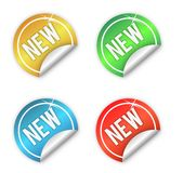 New stickers Stock Photos