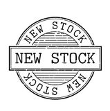 New stock rubber stamp Royalty Free Stock Photography
