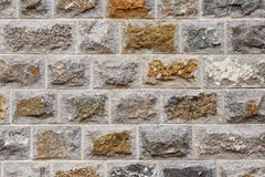 New Stone Blocks Wall Royalty Free Stock Photo