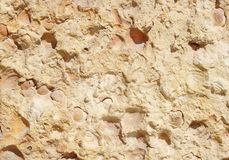 New stone cladding plate closeup Royalty Free Stock Image