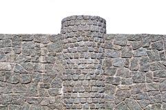 New  stone fence Stock Image