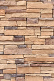 New stone wall cladding Royalty Free Stock Photo