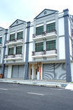 New 3 Storey Commercial Building Royalty Free Stock Photography