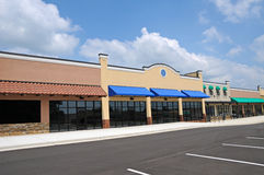 New Strip Mall Stock Images