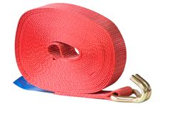 New strop for fastening a cargo. Royalty Free Stock Images