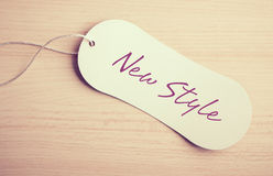 New style label Royalty Free Stock Photo