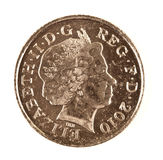 New Style Ten Pence Coin Stock Photos