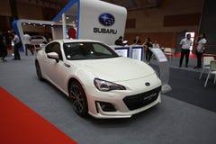 New subaru BRZ been show at 2017 Malaysia car autoshow. Stock Photography