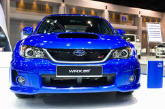 New Subaru on display Stock Photo