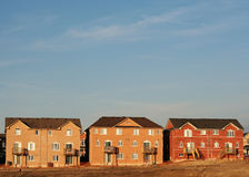 New subdivision construction Royalty Free Stock Photos