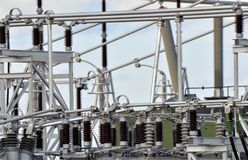 New substation Stock Photos