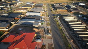 New suburb stock video
