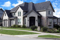 New Suburban house Royalty Free Stock Photography