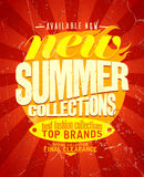 New summer collections design. Stock Photos