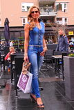 New summer street fashion outfit Royalty Free Stock Image