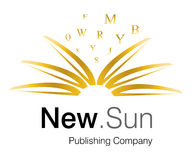 New Sun Logo Stock Photography