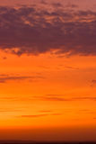 New sunset sky Royalty Free Stock Image