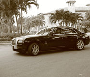 New super luxury rolls royce phantom Stock Image