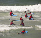 New surfers Royalty Free Stock Image