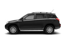 New SUV side view Royalty Free Stock Photography