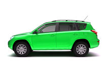 New SUV side view stock image
