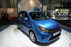 New Suzuki Celerio at the AMI, Leipzig Germany Royalty Free Stock Photography