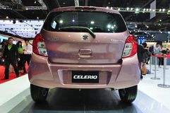 New Suzuki Celerio on display Royalty Free Stock Photos