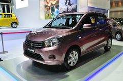 New Suzuki Celerio on display Royalty Free Stock Images