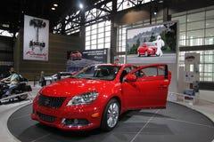 New Suzuki Kizashi. Chicago auto show February 2011 Stock Photography