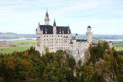 New Swan Stone Castle (Schloss Neuschwanstein) Stock Images