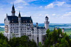 Neuschwanstein Castle(New Swanstone Castle) Stock Image