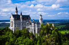 Neuschwanstein Castle(New Swanstone Castle). The Neuschwanstein Castle(New Swanstone Castle) in Bavaria, nearly to Munich, Germany Stock Photography